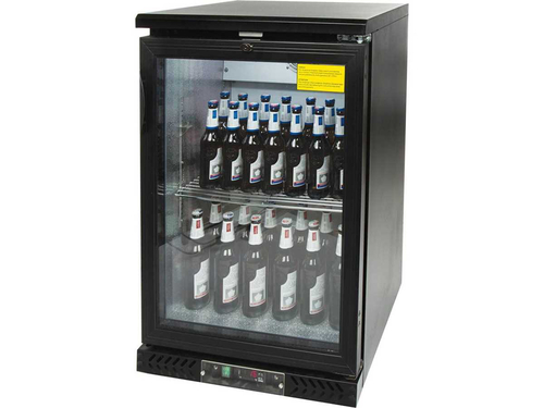 Bar Display Cooler, 140 Liter, eine Flügeltür, 600 x 530...